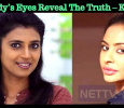Sri Reddy's Eyes Reveal The Truth – Kasthuri