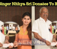 Super Singer Nithyashree Donates To Kerala…