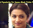 Unexpected Popularity For Jaanu Made Trisha Fly High! Tamil News