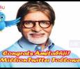 Amitabh Bachchan Has 33 Million Followers On Tw..