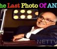 Nagarjuna Releases The Last Photo Of His Dad Na..