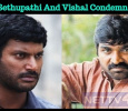 Vijay Sethupathi And Vishal Condemn Gunfire Against The Public! Tamil News