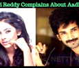 Sri Reddy Complains About Aadhi! Tamil News