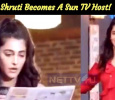 Shruti To Host A TV Show! Tamil News