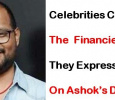 Celebrities Express Grief On Ashok's Death!