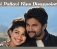 Sai Pallavi Fans Disappointed With Her Latest Release! Tamil News