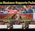 Renuka Shahane Supports Padmaavat! Hindi News