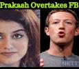 Priya Prakash Varrier Overtakes Mark Zuckerberg! Malayalam News