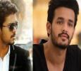 Akhil Movie Has Vijay Connection!