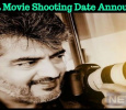 Thala Movie Shooting Date Announced! Tamil News