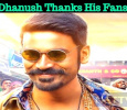 Dhanush Thanks His Fans For Their Concern!