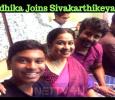 Radhika Joins Sivakarthikeyan! Tamil News