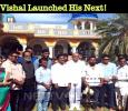 Vishal Launched His Next! Tamil News