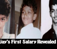 Vijay's First Salary Revealed!