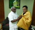 Kamal Haasan Meets Pon Radhakrishnan! Tamil News