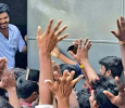 Vijay Enthralls Fans By Presenting Himself Before Them Tamil News