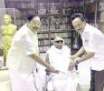Stalin And Durai Murugan Invite Karunanidhi To His Diamond Jubilee! Tamil News
