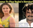 Simran To Play Rajini's Heroine? Tamil News