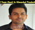 Karthi And Team Stuck In Himachal Pradesh Flood..