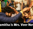 Namitha Ties The Knot With Veer In Tirupati! Tamil News