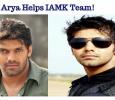 Arya Helps IAMK Team! Tamil News