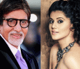 Amitabh With Tapsee To View Movie Pink With President