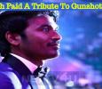 Dhanush Paid A Tribute To Thoothukudi Gunshot Victims! Tamil News
