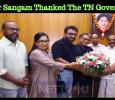 Nadigar Sangam Thanked The TN Government! Tamil News