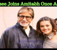 Taapsee Joins Amitabh Once Again! Tamil News