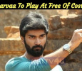 Atharvaa To Play At Free Of Cost! Tamil News