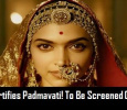 When Indian Board Rejected Padmavati, British Board Classified It! Tamil News