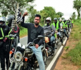 Bike Riding Happens In Movie Chamak Kannada News