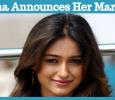 Ileana Announces Her Marriage!