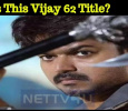Is This Vijay 62 Title?