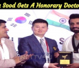 The Popular Villain Is Honoured With The Doctorate! Tamil News