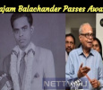 Rajam Balachander Passes Away!