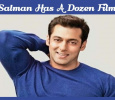 Salman Has A Dozen Films! Tamil News