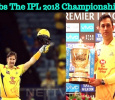 And Finally… CSK Grabs The IPL 2018 Champions..