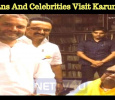 Politicians And Celebrities Visit Karunanidhi! Tamil News
