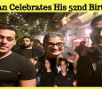 Salman Khan Celebrates His 52nd Birthday Today! Tamil News