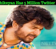 Sivakarthikeyan Reaches 5 Million Twitter Followers! Tamil News
