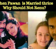 When Pawan Kalyan Is Married Thrice, Why Should Not His Wife? Telugu News