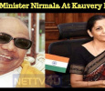 Defense Minister Nirmala At Kauvery Hospital! Tamil News