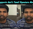 Soori Supports Aari's Tamil Signature Movement! Tamil News