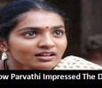 Parvathi's Dedication Impressed The Director! Tamil News