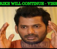 TFPC Strike Will Continue – Vishal Tamil News