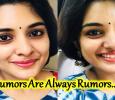 Rumor On Niveda Thomas Is Not True!