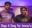 Yuvan Croons Under Imman's Music! Tamil News