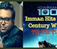 Imman Hits The Century With Tik Tik Tik! Tamil News