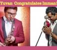 Yuvan Shankar Raja Congratulates This Musician! Tamil News